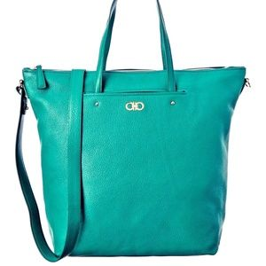 Salvatore Ferragamo Aika Leather Shoulder Bag
